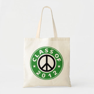 Class Of 2012 Peace Tote Bag