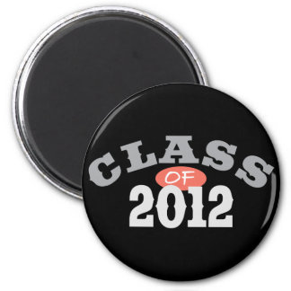 Class Of 2012 Peach Magnets