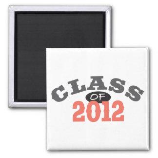 Class Of 2012 Peach Magnet