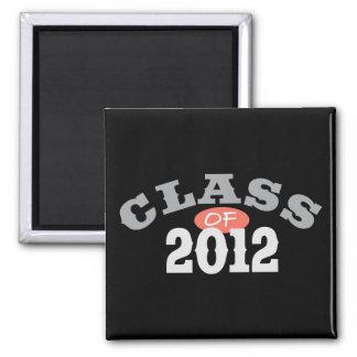 Class Of 2012 Peach Refrigerator Magnet
