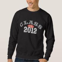 Class Of 2012 Peach Sweatshirt