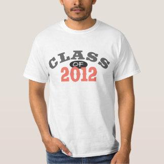 Class Of 2012 Peach Tee Shirt