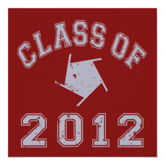 Class Of 2012 Photography - Grey 2 Card