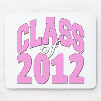 Class of 2012 (pink2) mouse pad