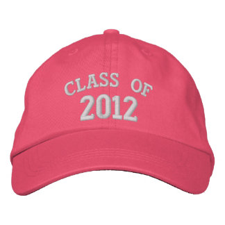 CLASS OF 2012 Pink Embroidered Hat