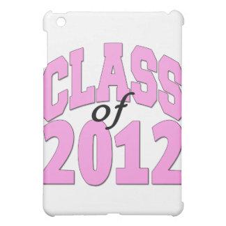 Class of 2012 (pink) iPad mini cover