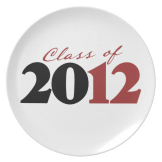 Class of 2012 plates