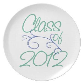 Class of 2012 dinner plates