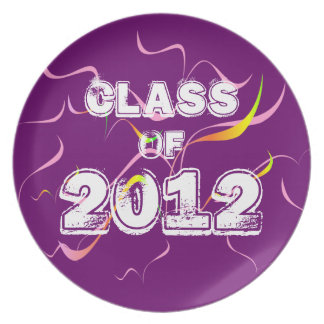 Class of 2012 party plates