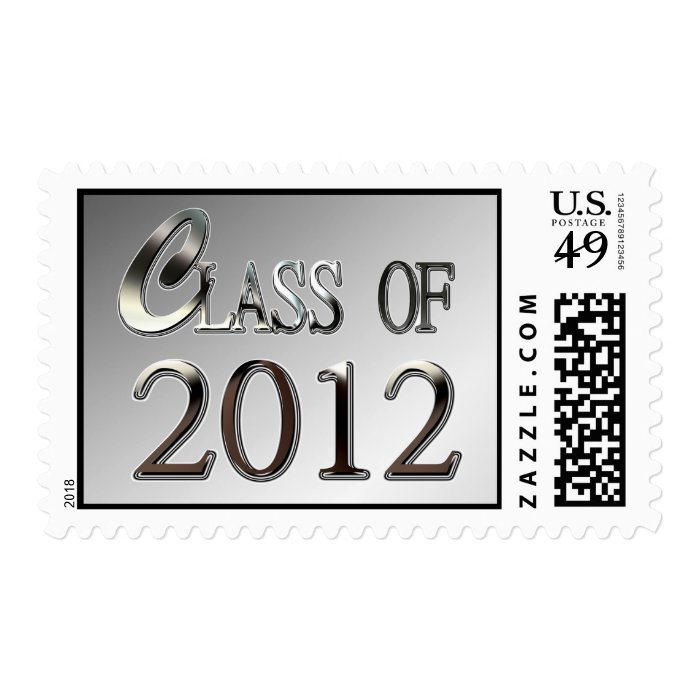 Class Of 2012 Postage Stamps