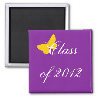 Class of 2012 - Purple and Gold Magnet