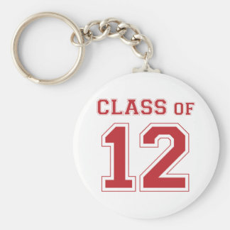 Class of 2012 - Red Keychain