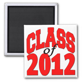 Class of 2012 (red) magnet