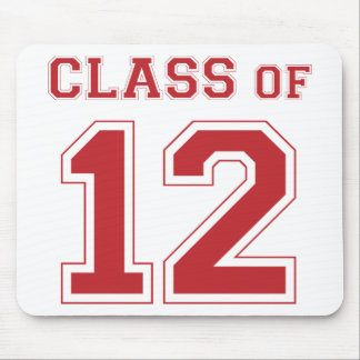 Class of 2012 - Red Mouse Pad