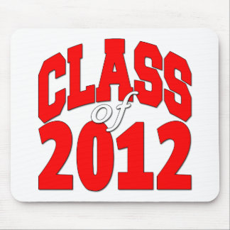 Class of 2012 Red Mouse Pad
