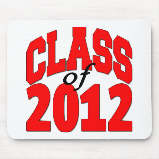 Class of 2012 (red) mouse pad