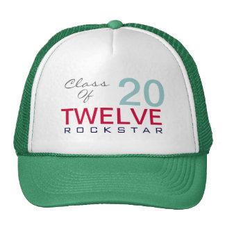 Class of 2012 ROCKSTAR Trucker Hat Green