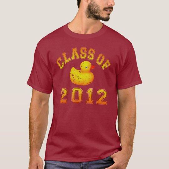Class Of 2012 Rubber Duckie - Yellow/Orange T-Shirt