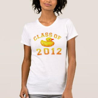 Class Of 2012 Rubber Duckie - Yellow/Orange Tees