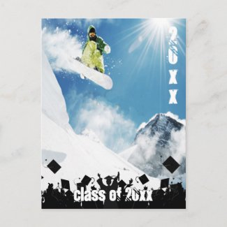 Class of 2012 Senior Graduation Invitation & Gifts Post Cards