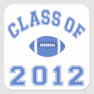 Class Of 2012 Square Sticker