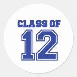 Class of 2012 sticker