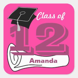 Class of 2012 Sticker Cap Diploma 1