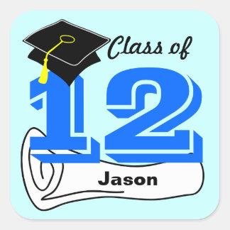Class of 2012 Sticker Cap Diploma 2