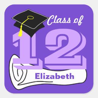 Class of 2012 Sticker Cap Diploma 7