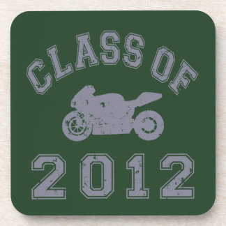 Class Of 2012 Superbike - Grey 2 Drink Coaster