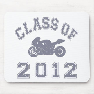 Class Of 2012 Superbike - Grey 2 Mouse Pad
