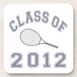 Class Of 2012 Tennis - Grey Coaster