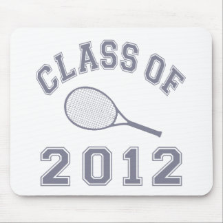 Class Of 2012 Tennis - Grey Mouse Pad