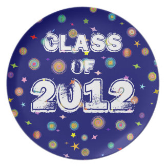 Class of 2012 (The Universe) Party Plate