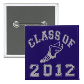 Class Of 2012 Track & Field Grey 2 Pins