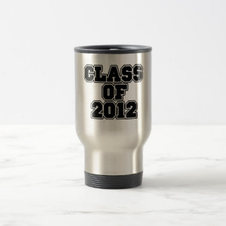 Class of 2012 travel mug