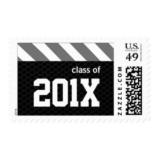 Class of 2013 Athletic Graduation Postage Stamp