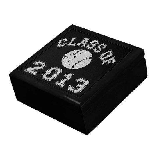 Class Of 2013 Baseball Jewelry Box