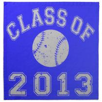 Class Of 2013 Baseball Napkin