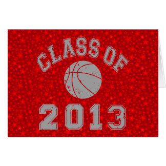 Class Of 2013 Basketball Card