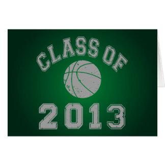Class Of 2013 Basketball - Grey 2 Card