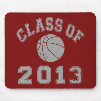 Class Of 2013 Basketball - Grey 2 Mouse Pads
