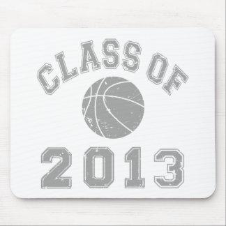 Class Of 2013 Basketball - Grey 2 Mousepads