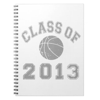 Class Of 2013 Basketball - Grey 2 Note Books