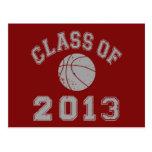 Class Of 2013 Basketball - Grey 2 Postcard