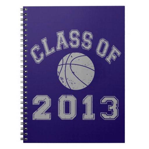 Class Of 2013 Basketball - Grey 2 Spiral Notebook