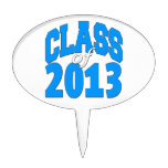 Class of 2013 (blue 2) cake toppers