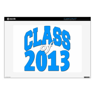 """Class of 2013 (blue 2) decal for 15"""" laptop"""