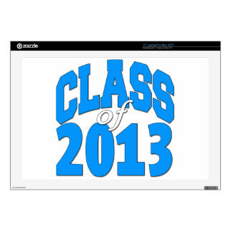"Class of 2013 (blue 2) decals for 17"" laptops"