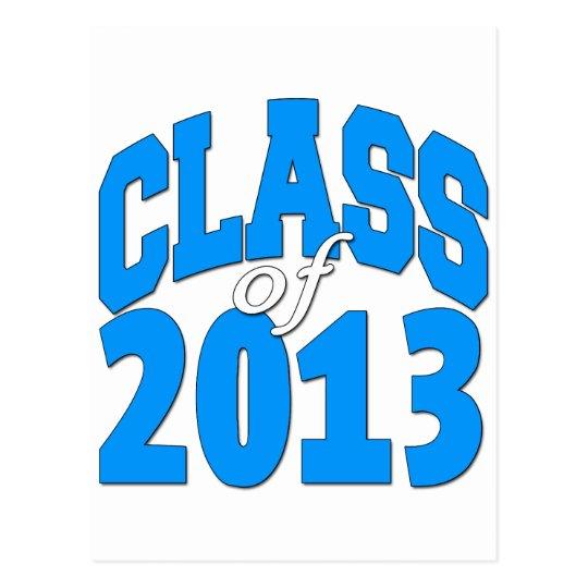 Class of 2013 (blue 2) postcard
